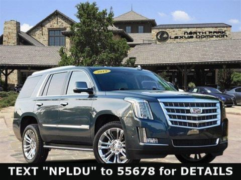 Pre-Owned 2019 Cadillac Escalade 4WD 4dr Premium Luxury