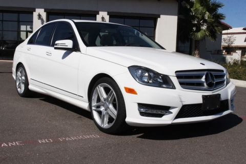 Pre-Owned 2013 Mercedes-Benz C-Class 4dr Sdn C 250 Sport RWD